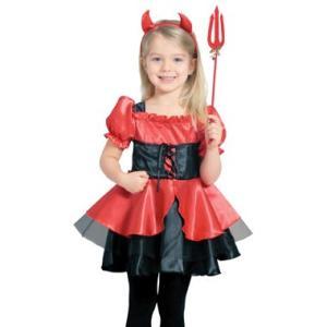 子供コスチューム 魔女[ウィッチ] 赤&黒