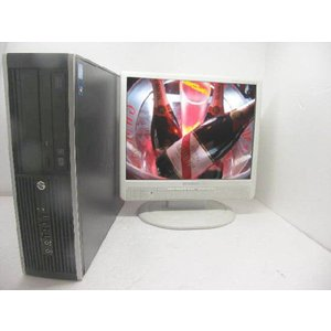 【中古パソコン】【ディスクトップ】【液晶セット】【HP】【Windows7】8000Elite Core2Duo 3.33GHz 4GB 250GB  19インチセット