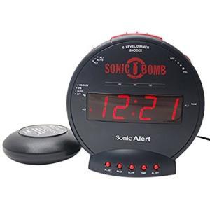 爆裂振動 大音量 目覚し時計