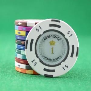 【単品】カジノ ポーカー チップ ゴルフ グリーンマーカー