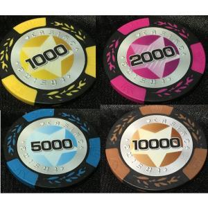 STAR カジノ ポーカー チップ ゴルフ グリーンマーカー
