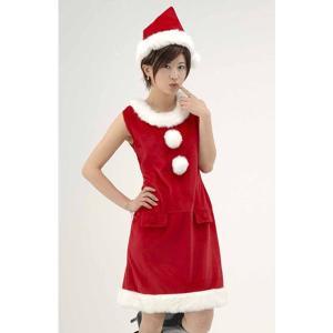 サンタドレス ワンピース ノースリーブ|epshop