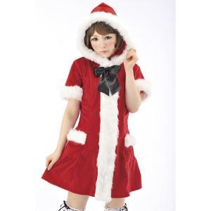 サンタドレス ワンピース フード付|epshop