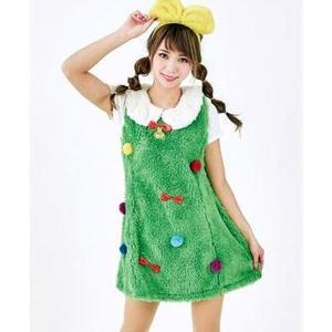 クリスマスツリードレス 着ぐるみ風|epshop
