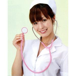 おもちゃの聴診器 ピンク|epshop