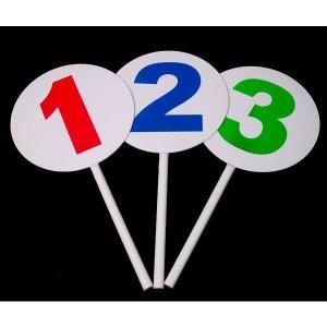 本格アンサープレート 1〜3番 3本セット    パーティーグッズ・パーティー雑貨・クイズ大会    epshop