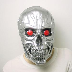リアルゴムマスク メタルガイコツ|epshop