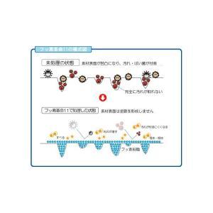 防汚コート剤 フッ素革命11ライト(30ml)スポンジ・クロスセット|erande|04