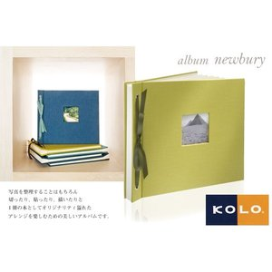 KOLO デザインフォトアルバム newbury ニューバリー アルバム|erfolg
