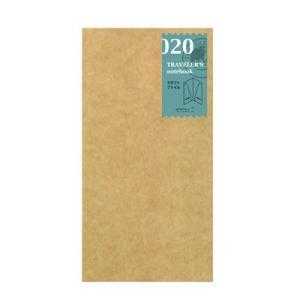 TRAVELER'S notebook トラベラーズノート用リフィル クラフトファイル 020 (レ...