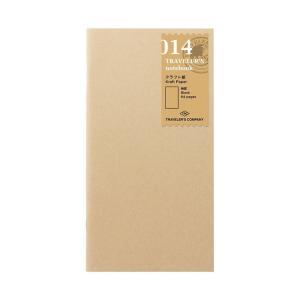 TRAVELER'S notebook トラベラーズノート用リフィル クラフト 014