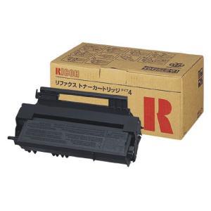 リコー リコー対応ファクシミリトナーカートリッジ RIFAXトナーカートリッジタイプ4 黒 339706 (1個)|erfolg