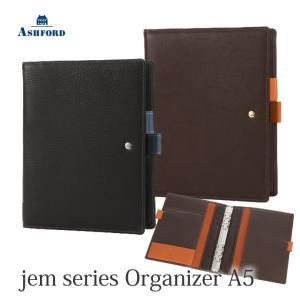 ASHFORD システム手帳 A5サイズ ジェム 3094 (アシュフォード) erfolg