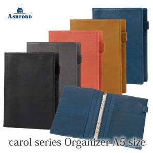 ASHFORD 本革 システム手帳 A5サイズ キャロル 3096 (アシュフォード) erfolg