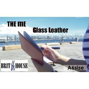 BRITHOUSE  THE ME ガラスレザー A6サイズ (ブリットハウス)|erfolg