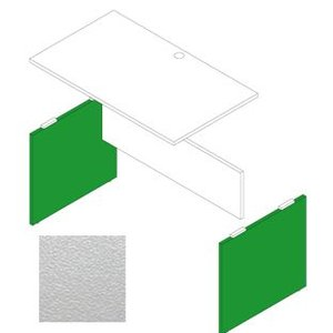 Garage デスク部材 木製パソコンデスクAF用脚 奥行60cm用 AF-K06 白 (ガラージ/ガレージ/オフィス家具/SOHO)|erfolg