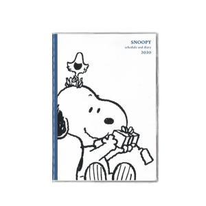 クツワ 家族手帳 2020年 B6薄型 マンスリー シンプル・ホワイト 605SQA(スヌーピー)