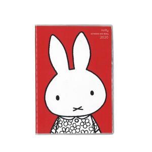 クツワ 家族手帳 2020年 B6薄型 マンスリー フラワードレス・レッド MF540D (ミッフィ...