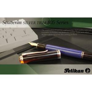 Pelikan Souveran SILVER TRIM スーベレーン シルバートリム M805|erfolg
