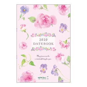 【20%OFF】《月間》MIDORI (ミドリ) 2020年 手帳 ポケットダイアリー<ミニ> カントリータイム 花柄 27781006|erfolg