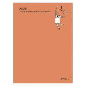 【在庫限り特価】《週間》MIDORI (ミドリ) 2020年 手帳 ポケットダイアリー<A6> オジサン柄 27796006 erfolg