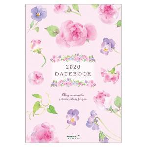 【在庫限り特価】《週間》MIDORI (ミドリ) 2020年 手帳 ポケットダイアリー<B6> カントリータイム 花柄 27807006|erfolg