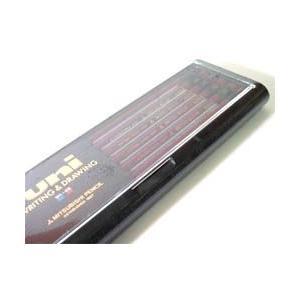 三菱鉛筆 uni(ユニ) 1ダース単位 F〜6B(鉛筆)|erfolg