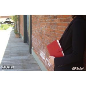 ASHFORD 本革 システム手帳 A5サイズ 19mmリング キュリオ 3080 (アシュフォード) erfolg