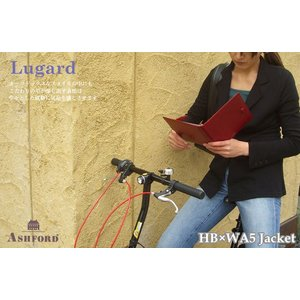 ASHFORD 本革 システム手帳 HB×WA5サイズ 15mmリング ルガード 6117 (アシュフォード) erfolg