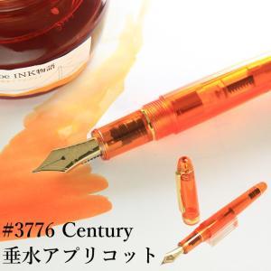 NAGASAWAオリジナル 限定万年筆 #3776センチュリーモデル【垂水アプリコット】|erfolg