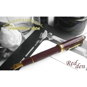 NAGASAWA オリジナル万年筆  プロフィット Redden レドゥン (ナガサワ/セーラー万年筆)|erfolg