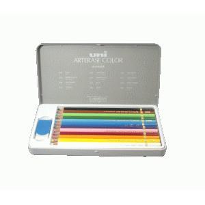 三菱鉛筆 消せる色鉛筆 ユニ・アーテレーズカラー 12色セット|erfolg