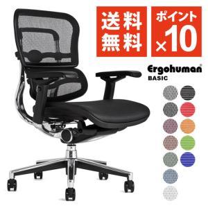 エルゴヒューマン ( ergohuman ) ベーシック / ヘッドレスト無し オフィスチェア ワークチェア 腰痛 対策 EH-LAM/EGP 【完成品】|ergohuman