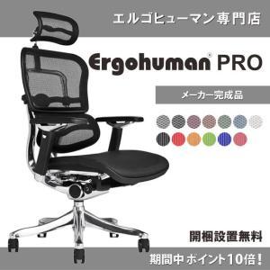 エルゴヒューマン プロ ( ergohuman pro ) / ヘッドレスト 付 本格 パソコンチェア ワークチェア  EHP-HAM / EGP 【完成品】|ergohuman