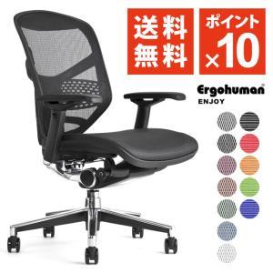 パソコンチェア 腰痛対策 エルゴヒューマン エンジョイ ergohuman enjoy / ランバーサポート付 / ENJOY / EGP|ergohuman