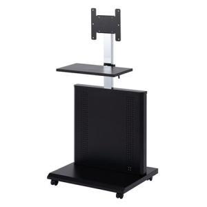 液晶テレビスタンド 20型〜32型対応 棚板 キャスター ケーブルボックス付