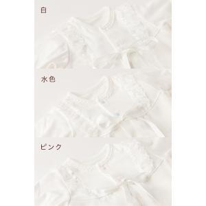 セレモニードレス 2way (ドレス・フード 2点セット) 日本製 お宮参り  男の子 女の子  新生児 赤ちゃん オールシーズン 50cm〜60cm  送料無料|erikaland-store|08