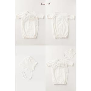 セレモニードレス 2way (ドレス・フード 2点セット) 日本製 お宮参り  男の子 女の子  新生児 赤ちゃん オールシーズン 50cm〜60cm  送料無料|erikaland-store|09