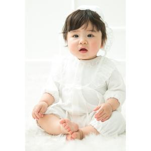 セレモニードレス 2way (ドレス・フード 2点セット)  日本製  長袖 男の子 女の子 新生児 赤ちゃん オールシーズン 50cm〜60cm 送料無料|erikaland-store|02