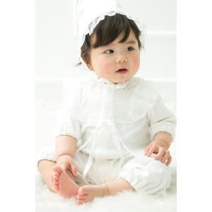 セレモニードレス 2way (ドレス・フード 2点セット)  日本製  長袖 男の子 女の子 新生児 赤ちゃん オールシーズン 50cm〜60cm 送料無料|erikaland-store|04
