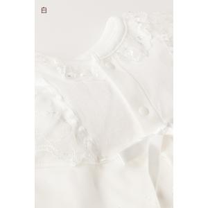 セレモニードレス 2way (ドレス・フード 2点セット)  日本製  長袖 男の子 女の子 新生児 赤ちゃん オールシーズン 50cm〜60cm 送料無料|erikaland-store|08