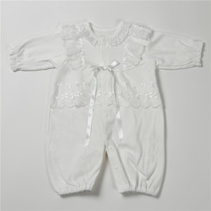セレモニードレス 2way (ドレス・フード 2点セット)  日本製  長袖 男の子 女の子 新生児 赤ちゃん オールシーズン 50cm〜60cm 送料無料|erikaland-store|10