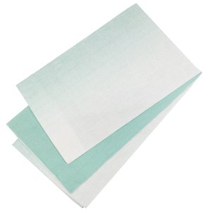 麻帯 半幅帯 No.232 細帯 小袋帯 白 青磁色 ミントグリーン グラデーション 日本製|eriko