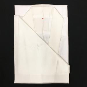 紳士用半襦袢 No.101 Mサイズ 白 半衿付き 男物|eriko