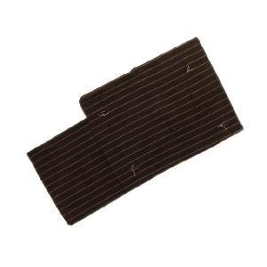 浴衣 男物 M〜LLサイズ ブラック 黒 ブラウン 茶色 縞柄 紳士用 メンズ|eriko