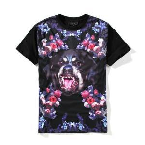 犬 顔 ロック rock Tシャツ メンズ 37140911...