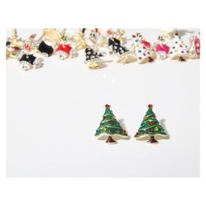 【激安均一セール】クリスマス ギフト プレゼント 特集 全18色 ピアス ファッション小物 イヤリング レディース 3714120401