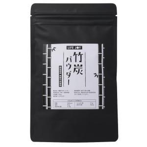 国産 竹炭パウダー 100g【鳥取県産高級竹使用】【軽量スプーン入り】【送料無料】