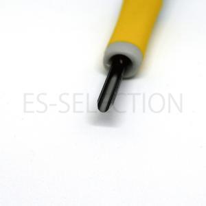 消しゴムはんこ専用彫刻刀「ゴムハン彫刻刀」丸刀小(道刃物工業)専用設計だから彫りやすい RABBYシリーズ 消しゴム版画にも|es-selection|03