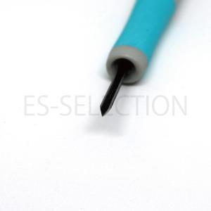 消しゴムはんこ専用彫刻刀「ゴムハン彫刻刀」三角小(道刃物工業)専用設計だから彫りやすい RABBYシリーズ 消しゴム版画にも|es-selection|03